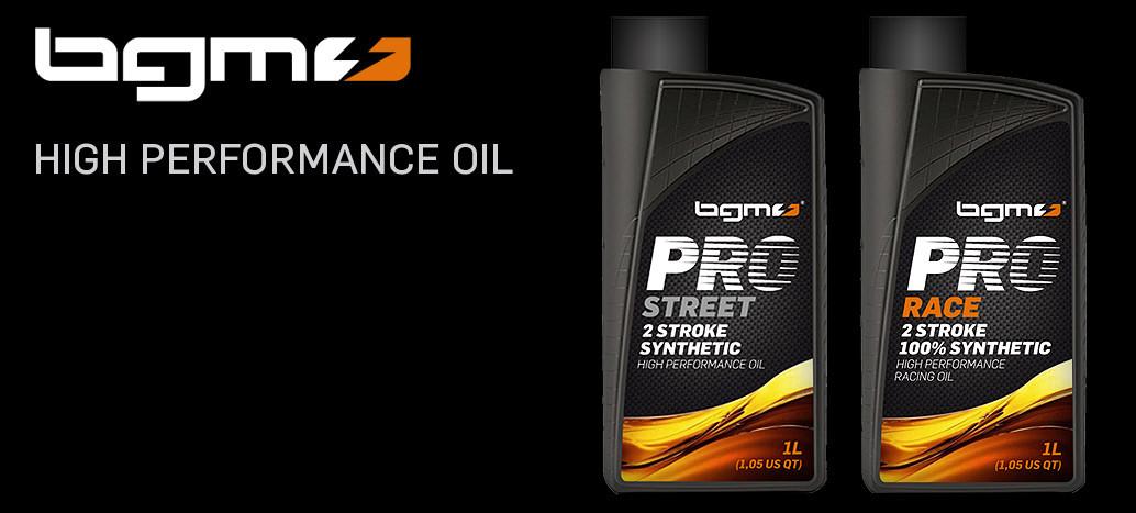 BGM PRO RACE & BGM PROS TREET  Stroke Scooter Oil Vespa Lambretta
