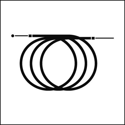 Vespa Cable set