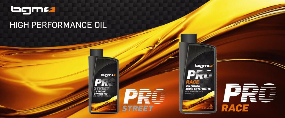 Vespa Lambretta Oil -BGM PRO STREET- and BGM PRO RACE2-stroke