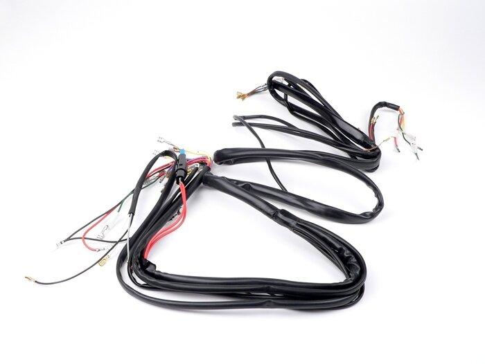 7673142-Complete wiring loom -BGM ORIGINAL- Vespa PX 1° (German)