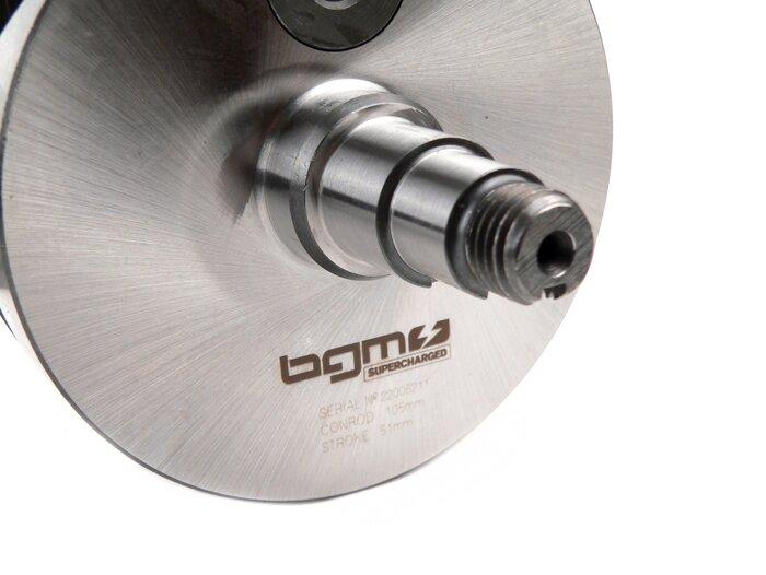 7673153-Crankshaft -BGM Pro RACING (for reed valve intake) full circle
