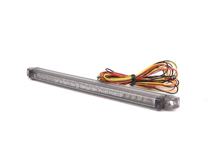 7673426-Tail light -BGM STYLE Micro 24 LED- universal - black