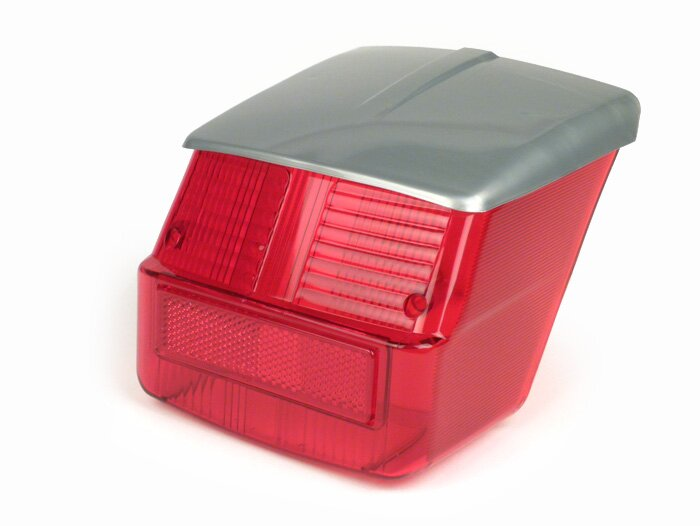 7675687-Tail light lens -BGM ORIGINAL- Vespa Rally180 (VSD1T)