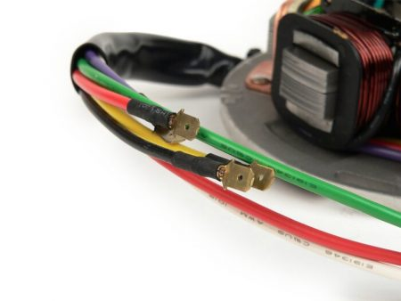 9021011-Ignition -BGM ORIGINAL stator- Vespa PE (with battery 1982-1984) - 7 wires