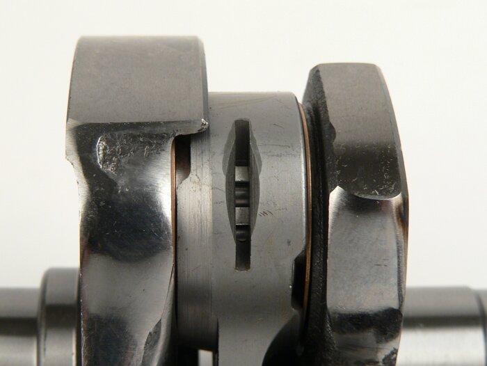 BGM031801G-Crankshaft -BGM Pro Touring (rotary valve) 60mm stroke- Vespa PX200