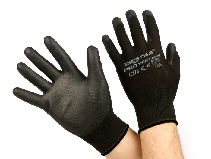 BGM0400XXL-Workshop gloves -BGM PRO-tection- fine knitted glove 100% Nylon with Polyurethan coating - size XXL (11)