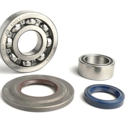 BGM1109-Bearing and oil seal set for crankshaft -BGM ORIGINAL- Vespa PX - metal type - incl. O-rings