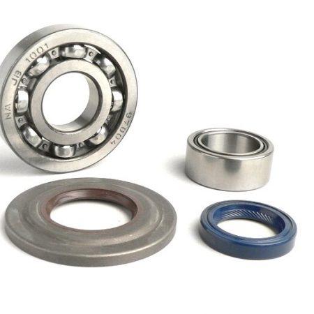 BGM1109-Bearing and oil seal set for crankshaft -BGM ORIGINAL- Vespa PX - metal type - incl. O-rings