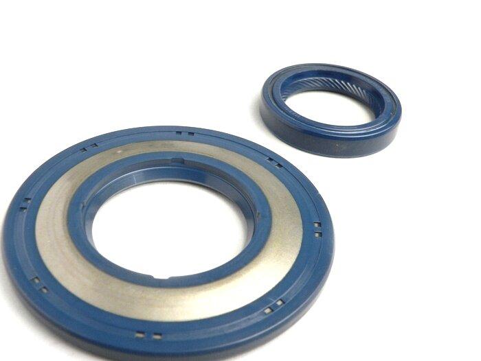 BGM1110-Bearing and oil seal set for crankshaft -BGM ORIGINAL- Vespa PX - rubber type - incl. O-rings