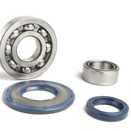 BGM1110-Bearing and oil seal set for crankshaft -BGM ORIGINAL- Vespa PX - rubber type - incl. O-rings