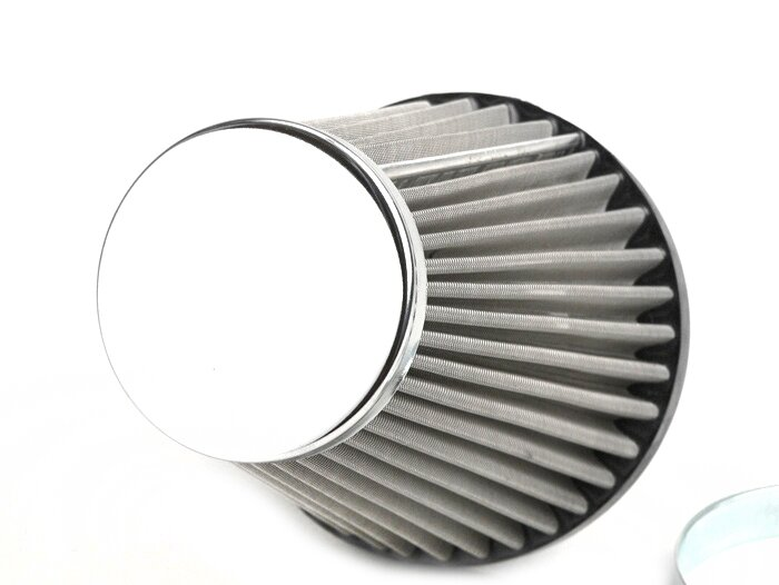 Stainless Steel Air Cleaner Housing : Bgm air filter stainless steel cs mm