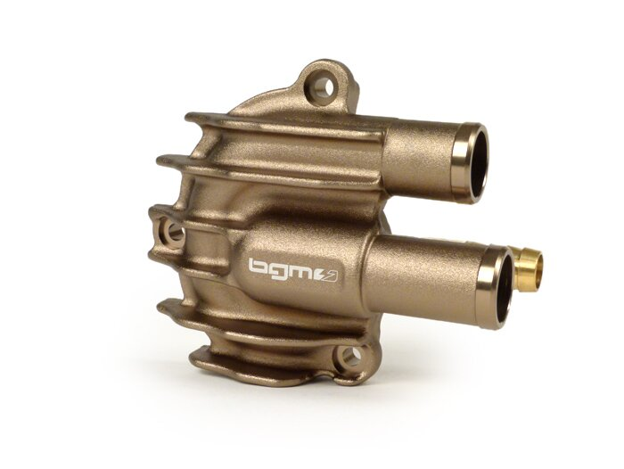 BGM4820TI-Water pump cover -BGM PRO Faster Flow- Vespa GT