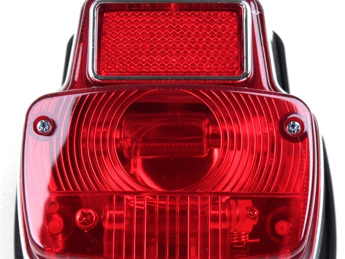 BGM5033-Tail light -BGM STYLE Vespa vintage- metal