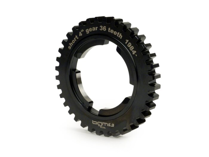 BGM6536L-4th speed gear wheel -BGM PRO- Vespa PX EFL T5 125cc