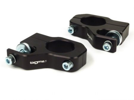 BGM7650N-Shock absorber upper mount -BGM PRO Clip on aluminium CNC- Lambretta LI