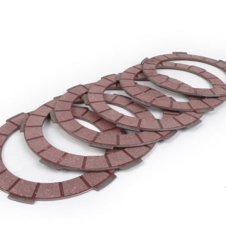 BGM8006-Clutch plates set -BGM PRO Superstrong Racing Red- Lambretta LI