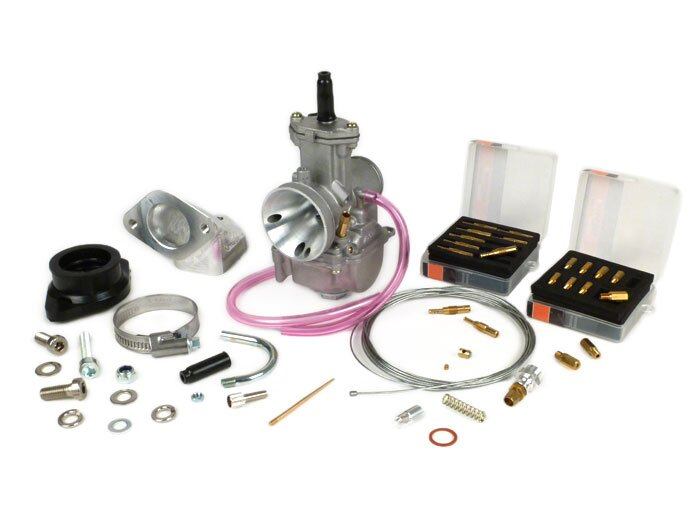 BGM8596-Carburettor kit -BGM PRO 195-225 cc- Lambretta LI