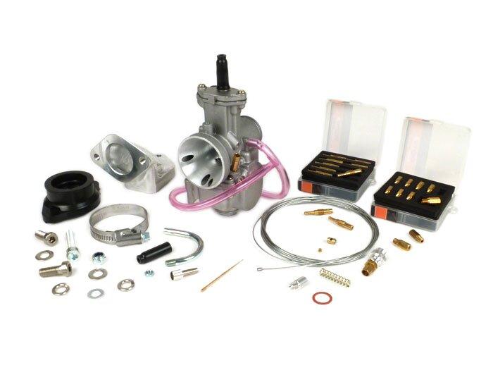 BGM8597-Carburettor kit -BGM PRO 195-225 cc- Lambretta LI