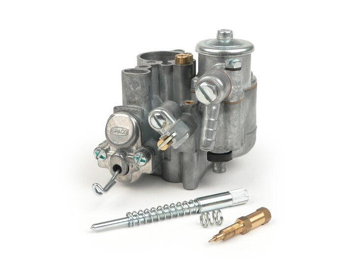 BGM8573 Carburettor -BGM PRO Faster Flow Dellorto / SPACO SI26/26E- Vespa  PX200 (type without autolube)