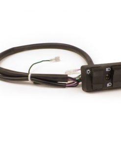 1231852 Lichtschalter -BGM PRO- Vespa PK S Lusso, PK XL, Vespa PX (1984-1998) – 9 Kabel (DC, Modelle ohne Batterie, mit Hupengleichrichter, Schliesser)