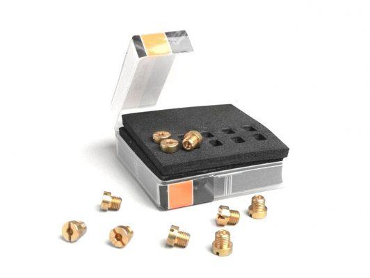 2599110 Hauptdüsenset -BGM PRO für Dellorto (Typ: 6413) 6mm- (100-122) – (100-102-105-108-110-112-115-118-120-122)