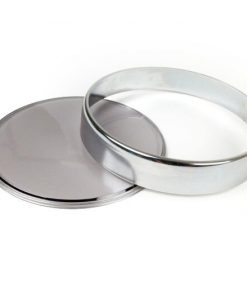 3331717 Jeu de verres de compteur -BGM ORIGINAL- Vespa Ø = 105mm - Vespa PX Lusso (1984-), PK XL1, GT 250 ie 60 (ZAPM451), GTV 125 (ZAPM313), GTV 250 (ZAPM451), GTV 300 (ZAPM452) - anneau chromé - verre teinté