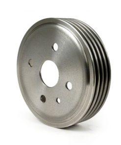 """3332266 Bremstrommel vorne 9"""" + 10"""" -BGM PRO Grauguss- Vespa V50 R (V5A1T bis Nr. 752188), V50 N, V50 S, V50 L, SR50, V90"""