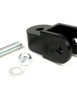 7670346 Kit de levage -BGM ORIGINAL- 40mm (M8 x 20mm, type Minarelli 50) - noir