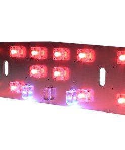 7673020 Rücklicht -BGM PRO LED- LAMBRETTA nur Reflektor- LI (Serie 1-2, bis Bj. 1960), TV (Serie 1-2, bis Bj. 1960) – 12V