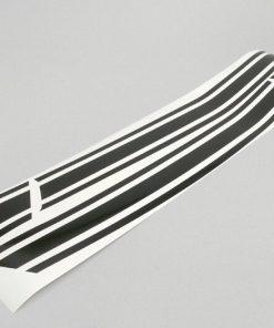 8050037 Autocollant pour panneau latéral -LAMBRETTA- DL, GP - noir brillant