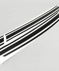 8050095 Autocollant pour panneau latéral -LAMBRETTA- DL, GP - noir mat