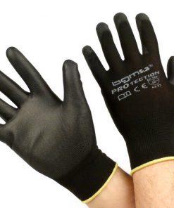 BGM0400XL Arbeitshandschuhe – Mechaniker Handschuhe – Schutzhandschuhe -BGM PRO-tection- Feinstrickhandschuh 100% Nylon mit Polyurethan Beschichtung – Grösse XL (10)
