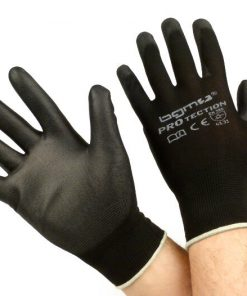 BGM0400XS Arbeitshandschuhe – Mechaniker Handschuhe – Schutzhandschuhe -BGM PRO-tection- Feinstrickhandschuh 100% Nylon mit Polyurethan Beschichtung – Grösse XS (6)