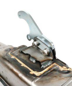 BGM2105QU4 Auspuff -BGM PRO Clubman V4.0 für QUATTRINI M210- Lambretta Serie 1-3 – unlackiert