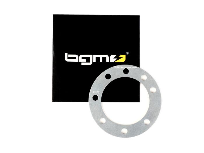 BGM2220HS Spacer Zylinderkopf -BGM PRO RaceTour Ø=65,0mm 8-fach Verschraubung – Lambretta LI 125-150, LIS, SX 125-150, TV 175 (Serie 2-3), DL/GP 125-150 – 1,5mm