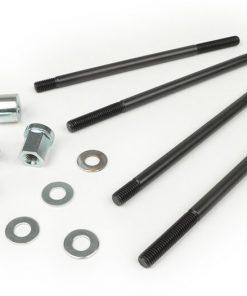 BGM2244 Stehbolzen-Set M8 x 165mm inkl. Zylinderkopfmuttern -BGM PRO- Lambretta LI, LIS, SX, TV (Serie 2-3), DL, GP