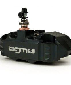 BGM2506BK Bremszange vorne -BGM PRO, 4-Kolben, radiale Befestigung (Adapter benötigt)- für PX Disc, LML Star, Stella, Grimeca NT classic- Vespa PX (ab Bj. 1998, Serie), PX, T5 125cc, PK XL – Schwarz
