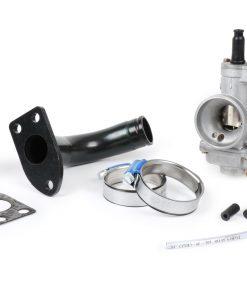 BGM2580KT2 Jeu de collecteur d'admission avec carburateur -BGM PRO Ø24mm Polini CP23- Vespa GS150 (VS2 à VS5), GS2 (VD1TS), GS3 (VD2TS)
