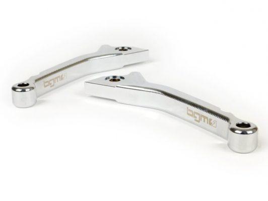 BGM4502 Bremshebel-Set -BGM PRO CNC Sport, kurz (130mm)- Vespa GT, GTL, GTS 125-300 – chrom