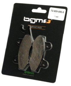 BGM45539 Bremsbeläge -BGM 77,4×42,3/98,8×42,3mm- CAGIVA Elefant i.e. 900ccm Bj. 1991-1992 (h), DAELIM City Ace 110ccm Bj. 2006 (), Roadwin 125ccm Bj. 2003 (), DAELIM 4 wheels ET Quad 250ccm Bj. 2006 (vh), H…
