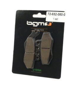 BGM45677 Bremsbeläge -BGM 76,8×41,8/94,5x42mm- Gilera Runner 125-200 FX/FXR/VX/VXR mit Grimeca Bremssattel (9mm Stift)