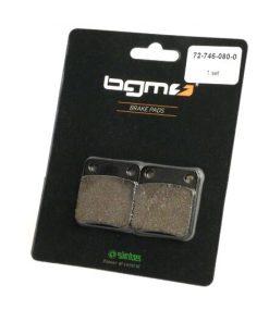 BGM45746 Bremsbeläge -BGM 41,5×45,3mm- ADLY Moto Fox Plus 50 ccm Bj. 2002 (v), Moto Silver Fox 50 ccm Bj. 2002 (v), Moto Super Sonic 125 ccm Bj. 2003 (v), DAELIM Avance II 125 ccm Bj. 1998 (v), Delfino 100 …