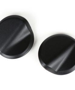 BGM4591KTMB Abdeckkappen-Set Spiegellöcher -BGM PRO- Vespa GTS 125-300 (ZAPMA3100, ZAPMA3200, ZAPMA3300) GTS HPE, Supertech (ZAPMA3600) – schwarz matt (099/c)