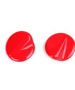 BGM4591KTRD Abdeckkappen-Set Spiegellöcher -BGM PRO- Vespa GTS 125-300 (ZAPMA3100, ZAPMA3200, ZAPMA3300) GTS HPE, Supertech (ZAPMA3600) – rot (894 red dragon)