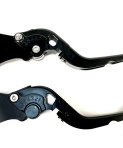 BGM4600 Bremshebel-Set -BGM PRO Sport, einstellbar + klappbar- Vespa GT, GTL, GTS 125-300 – schwarz