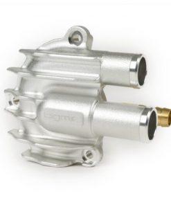 BGM4820SL Couvercle de pompe à eau -BGM PRO Faster Flow- Vespa GT, GTS, GTL, GTV 125-300, GTS300 HPE - anodisé argent
