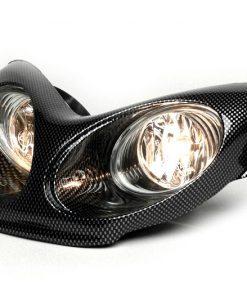 BGM5092 Scheinwerfer -BGM Next Generation- MBK Nitro (YQ50/L, 2-Takt), Yamaha Aerox (YQ50/L, 2-Takt) – Carbon Style