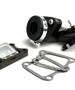 BGM5503 Collecteur d'admission -BGM PRO V2- Peugeot 50 cc (vertical) - SPEEDFIGHT1 50 cc LC, SPEEDFIGHT2 50 cc LC, XFIGHT 50, SPEEDFIGHT1 50 cc AC, SPEEDFIGHT2 50 cc AC, TKR50, TREKKER50, VIVACITY50, ELYSEO50, SQU…