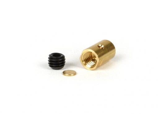 BGM6499 Klemmnippel / Schraubnippel lang -BGM ORIGINAL Ø=10×16.25mm- Lambretta LI, LIS, SX, TV (Serie 2-3), DL, GP