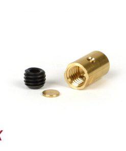 BGM6499X Klemmnippel / Schraubnippel lang -BGM ORIGINAL Ø=10×16.25mm- Lambretta LI, LIS, SX, TV (Serie 2-3), DL, GP – 10 Stück